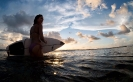 Erich Surfing in Siargao