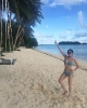 Jinri Park took her Korean sister at Siargao